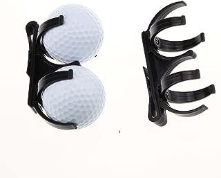 Golf Ball Holder Clip Magic Ball Games Prop Organizer Golfer Golfing Tool pack of 2
