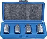 BGS 1882 1882-Set di estrattori per bulloni, 6-12 mm, 4 Pezzi