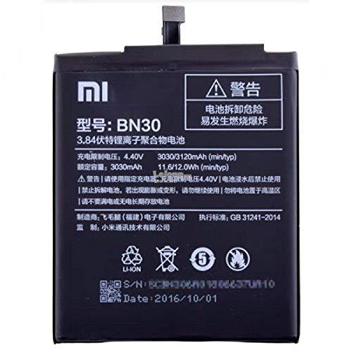 MLTrade - Bateria Original Xiaomi BN30 para Xiaomi Redmi 4A, Bulk