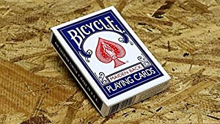 US Playing Card Co. Bicycle Maiden Back (Blue)