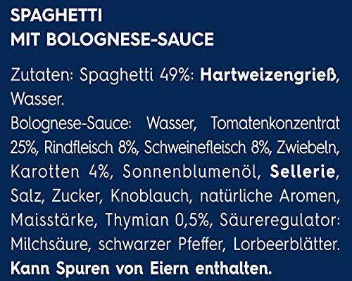 Barilla Pasta & Sauce Set Spaghetti Bolognese, 7er Pack (7 x 510 g) - 7