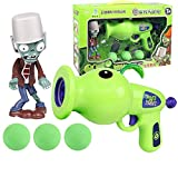 Plants Vs Zombies Pea Shooter Corn Cannon Children Toy Gun Boy GiftHit No Pain Safety Material Air Gun Toys(1pcs Not Include Box)