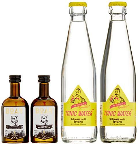 BOAR Gin Schwarzwald Tonic Edition Heimatmomente im exklusiven Geschenkset in limitierter Auflage (1 x 0.05 l)