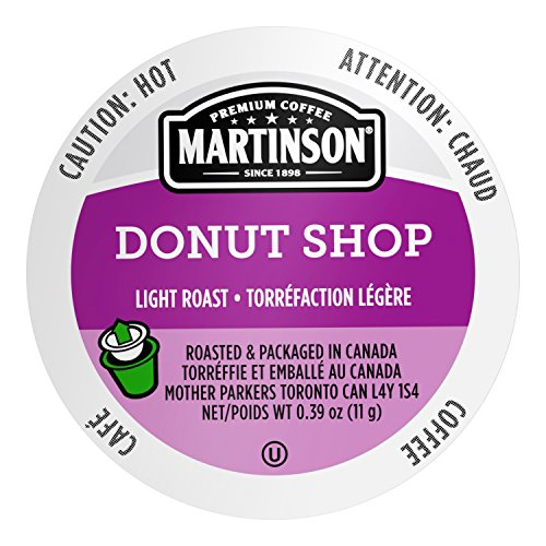 Martinson Single Serve Coffee Capsules, Donut Shop, 24 Count