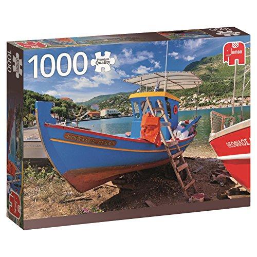 Jumbo- Lago Griego, Puzzle de 1000 Piezas (618332)