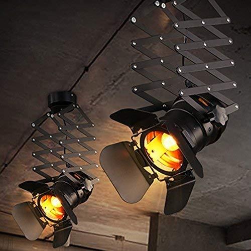 MJY Die Spur der LED-Beleuchtung Spotlight Loft Bar Bekleidungsgeschäft der Gang-Sonde Die Persönlichkeitswand im hinteren Plan Wohnzimmer Küche Schlafzimmer Restaurant Studie Single Head E27 Select,