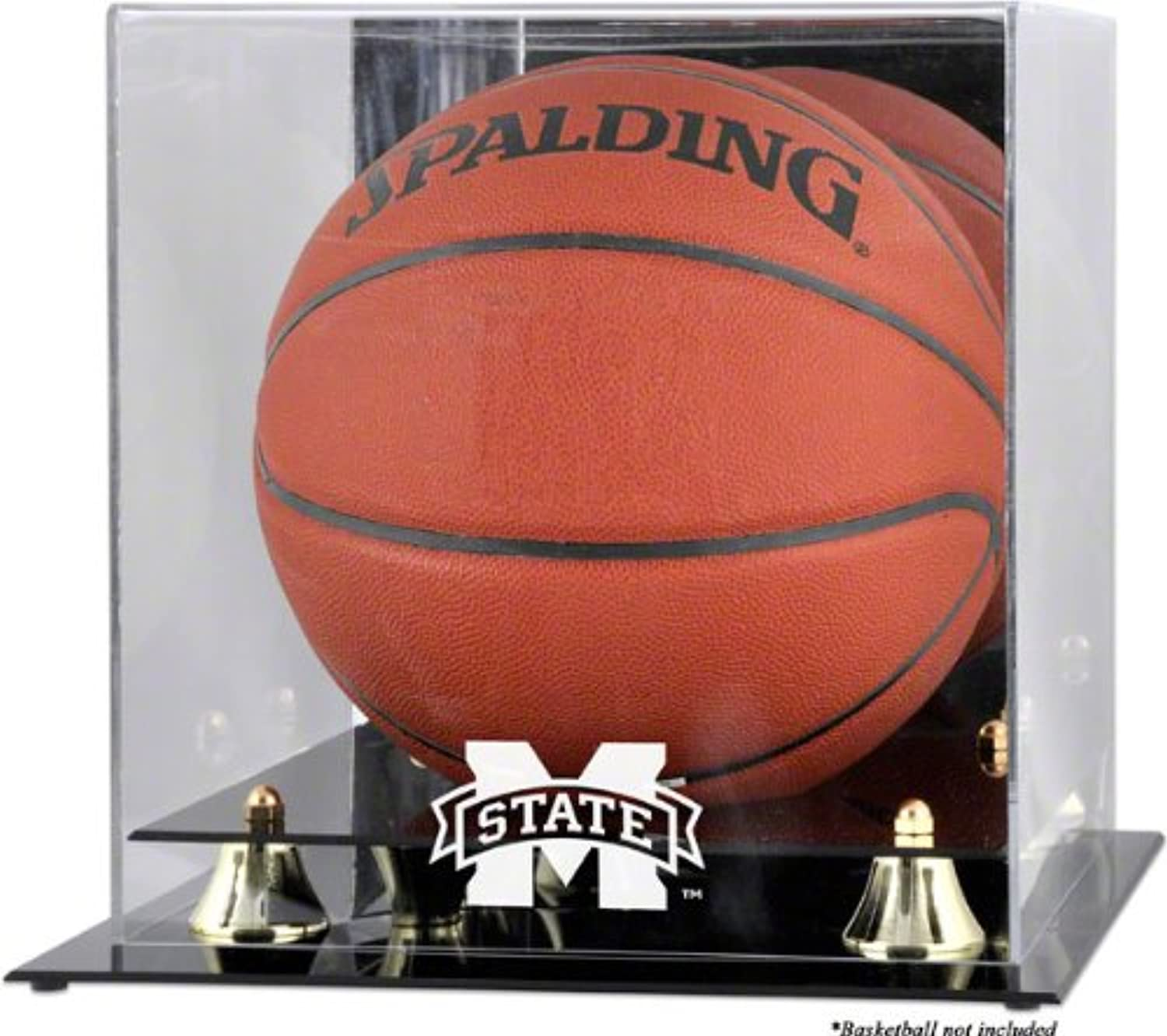 7370e5014 Mississippi State Bulldogs Classic Logo Basketball Display Case with ...