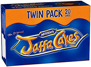 Original English McVities Jaffa Cakes Twin Pack Imported from the UK England Twin Pack …