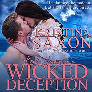 Lord Hanover's Wicked Deception audiobook cover art