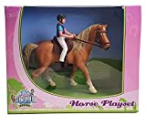 Van Manen Kids Globe Horses Pferde mit Reiter...