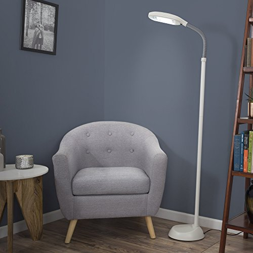 Lavish Home Light Therapy Floor Lamp