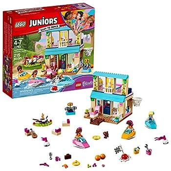 LEGO Juniors Stephanie's Lakeside House 10763 Building Kit  215 Piece