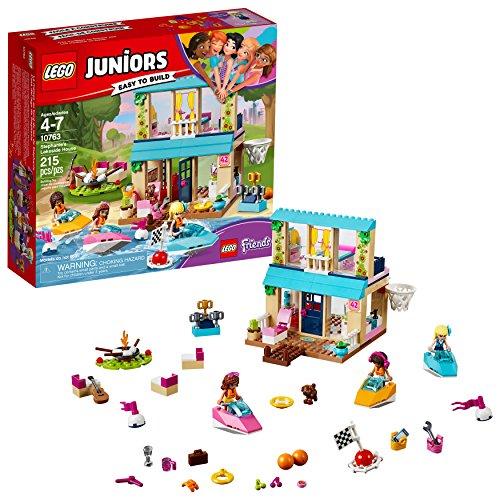 LEGO Juniors La casa sul Lago di Stephanie 10763 (215 Pezzi)