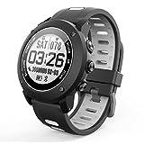 OOLIFENG Tracker Fitness, Orologio Intelligente con GPS Altimetro Barometro Bussola Cardiofrequenzimetro IP68 Impermeabile Digitale Sport Orologio per Sport All'aperto