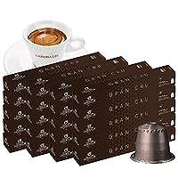GARIBALDI(ガリバルディ) イタリア産 ネスプレッソ 互換 カプセルコーヒー グラン・クリュ×20箱(200カプセル)【1~2営業日以内に出荷】