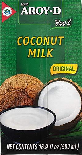 Leche de coco AROY-D con E435 [1x 500 ml