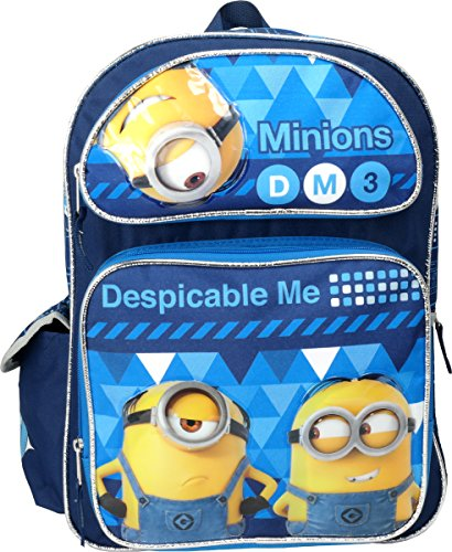 Despicable Me 3 Minions 16' Large Backpack