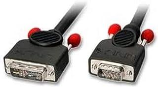 Lindy 41196 Cavo Adattatore DVI-A/VGA, 2 mt, Nero