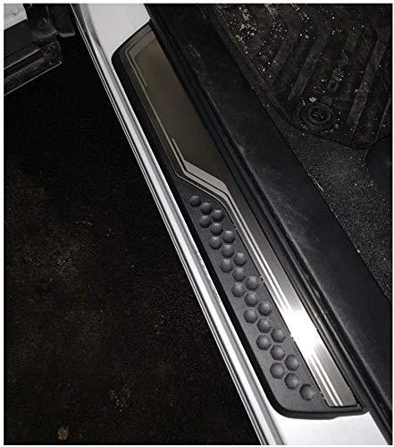 LFOTPP Tiras de umbral de acero inoxidable, accesorios de diseño de automóviles, protección de umbral para  CRV [4 unidades]