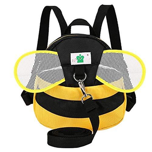 W Kletterwand rc Autoschultaschen Kinderrucksack Baby-Kleinkind-Tasche Kinder Schultasche Kindergartenrucksack Kinderrucksack (Color : Yellow, Size : L)
