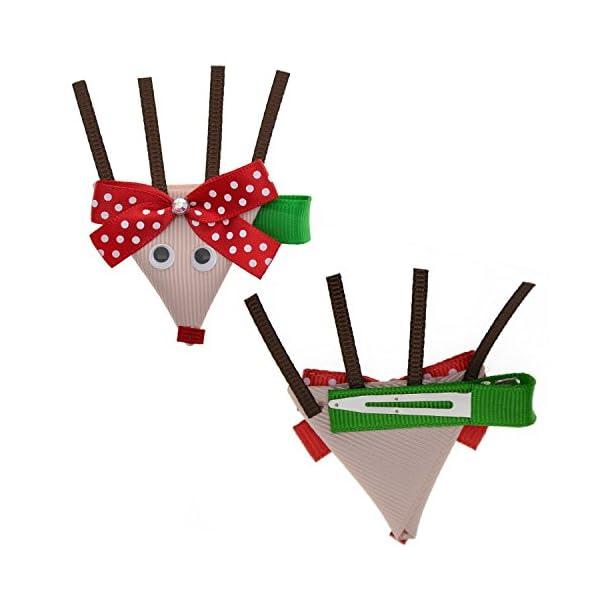 20 pcs Christmas Hair Bows