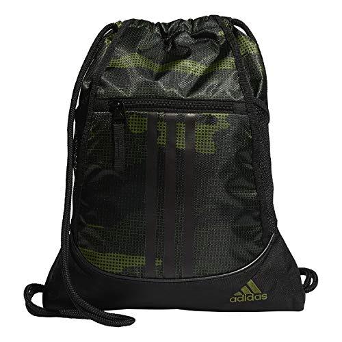 adidas Unisex's Alliance Ii - Bolsa para mochila (talla única), color verde oliva