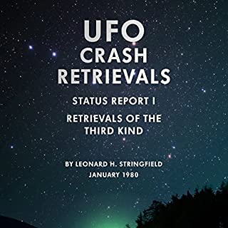 UFO Crash Retrievals - Status Report I audiobook cover art