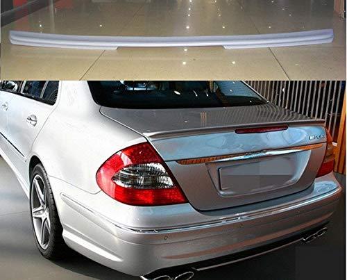 NYSCJJJ for W211 Spoiler 2003-2006 Mercedes-Benz W211 YC E-Klasse E200 E260 Spoiler ABS-Kunststoff-Auto-hinteren...