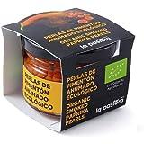 LA PASTORA | Producto Gourmet | Perlas de Pimentón Ahumado Ecológico | 50 gr. | Pimentón Orgánico | 100% Natural | Ideal para Tus Platos | Pimentón Español | Pimentón Puro