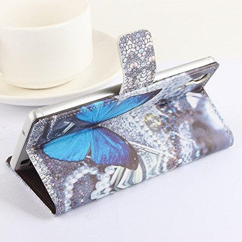 Easbuy Handy Hülle Case Etui Tasche Schutzhülle für Cubot x9 Smartphone Tasche Hülle Case Handytasche Handyhülle Schutzhülle Etui (Mode 1)