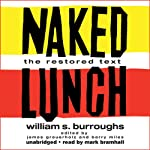 Naked Lunch audiobook cover art