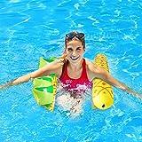 Colchoneta de piscina con malla, hinchable transparente, colchón hinchable de piña para adultos (piña)