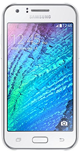 'Samsung Galaxy J1SM-J100H Dual SIM 4GB weiß–Smartphone (10,9cm (4.3), 0,5GB, 4GB, 5MP, Android, Weiß)