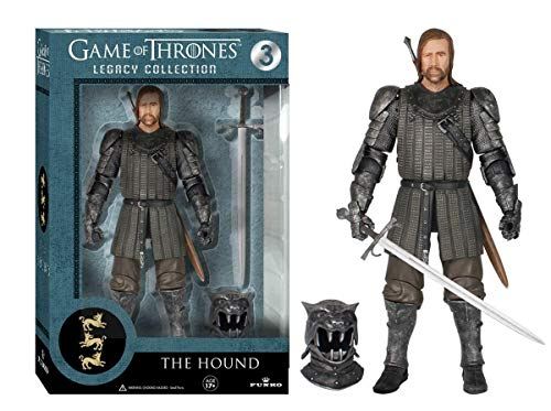 Funko 3912 Game of Thrones Toy - The Hound Deluxe Collectable Action Figure - Sandor Clegane