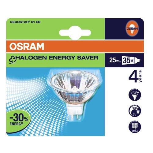 Preisvergleich Produktbild OSRAM Halogenlampe DECOSTAR ECO 25 W