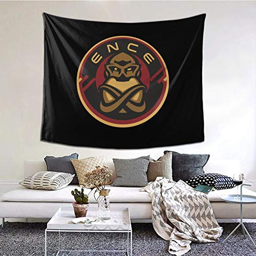 GEHIYPA Ence Team Logo Awall Hanging Tapestry 3d Printing Wall Poster Decor For Room Living One Size