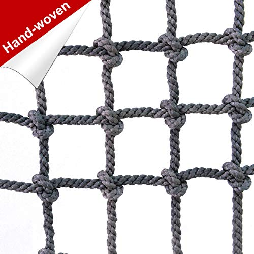 Lowest Price! HUANPIN Climbing Frame Net for Kids | Adults Truck Trailer Heavy Duty Netting Dia 10 m...