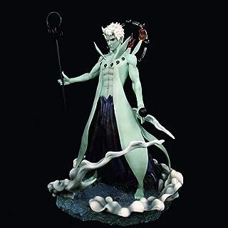 Verkligt och roligt Anime Naruto sex bälten Skulptur prydnadsmaterial PVC teckenmodell Utsökt samling 44cm