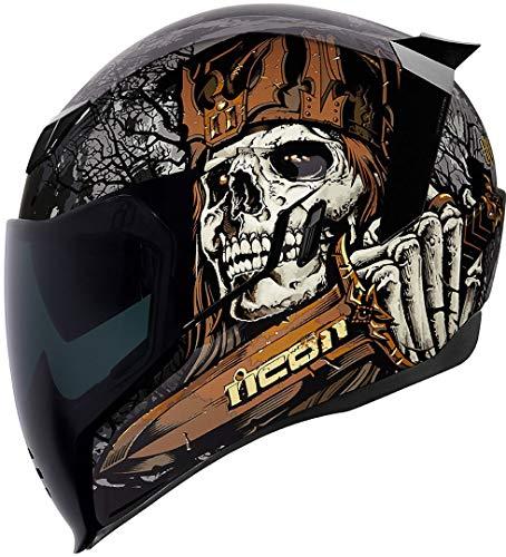 Icon Helm Airflite Uncle Dave Motorradhelm Integralhelm, M