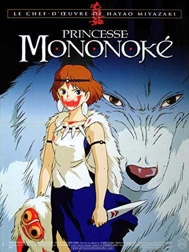 Princesse Mononoké - Affiche de Film Originale - 40x53 cm - Pliée