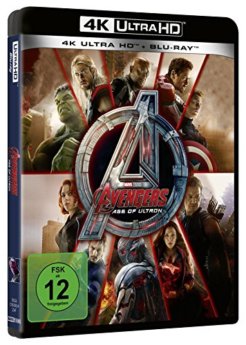 Marvels The Avengers - Age of Ultron (4K Ultra HD) (+ Blu-ray 2D)