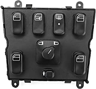 Car Window Switch Power Window Master Switch Replacement A1638206610 Fit for Benz W163 ML320