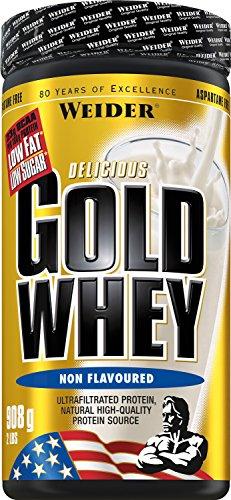 Weider, Gold Whey Protein, Neutral, 1er Pack (1x 908 g)
