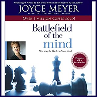 The Battlefield of the Mind     Winning the Battle in Your...              Autor:                                                                                                                                 Joyce Meyer                               Sprecher:                                                                                                                                 Pat Lentz                      Spieldauer: 6 Std. und 27 Min.     7 Bewertungen     Gesamt 4,4