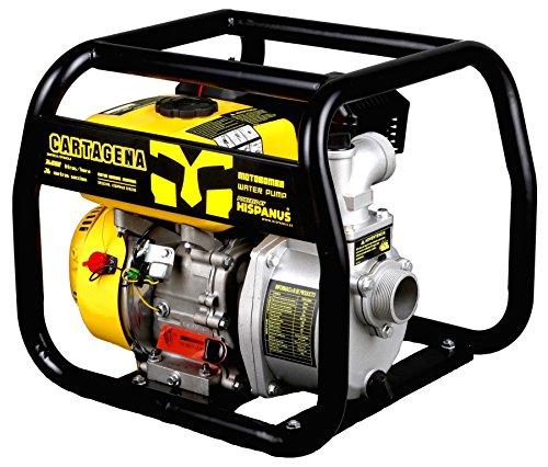 "HISPANUS MOTOBOMBA DE GASOLINA 36000 L/H, 26MTS. MODELO""CARTAGENA"""