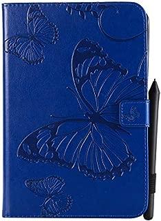 Funda duradera y suave para tableta Venta caliente Flor de Mariposa Patrón Floral Personalidad Estuche Protector Funda Protectora de Cuero de LA PU Funda para iPad Mini 1/2/3/4 Cubierta de tableta de