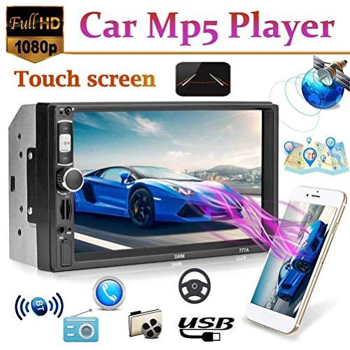 2 Din 7 inch MP5 Speler Auto Radio Audio USB AUX FM Radio Station Bluetooth Achteruitkijkcamera Display met Draadloze Afstandsbediening