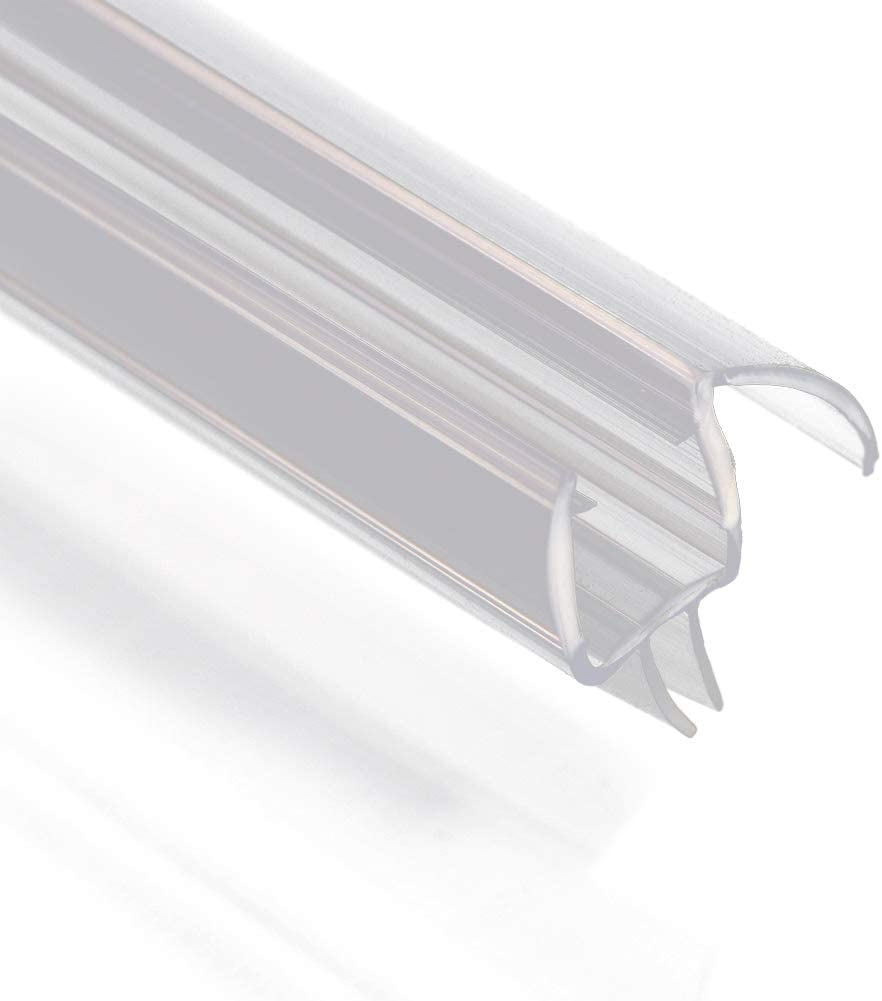 SUNNY 2021new shipping free shipping SHOWER San Antonio Mall A309D5 Fit Frameless Seal Door Shower Glass Bottom