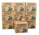 Best Book Boxes - U-Haul Small Moving Boxes - Pack of 10 Review