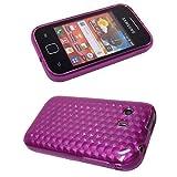 caseroxx TPU-Carcasa para Samsung S5360 Galaxy Y, Carcasa (TPU-Carcasa en Pink)